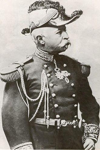 Commemorative medal of the 1870–1871 War - General Édouard Laffon de Ladebat, a recipient of the Commemorative medal of the 1870–1871 War