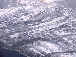 Harstad/Narvik Airport, Evenes - Aerial view of the airport