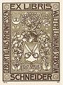 Ex Libris Walter Schneider von Rheude 1912.jpg
