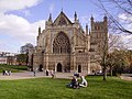 Exeter Cathedral in springtime - geograph.org.uk - 1305085.jpg