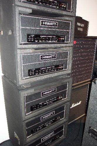 "Live at Leeds - Townshend used a Hiwatt CP-103 ""Super Who"" guitar amp on the recording"