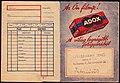 Fénykép boríték 1940, Strassmann Jenő optika és fotó szaküzlete. Fortepan 81573.jpg
