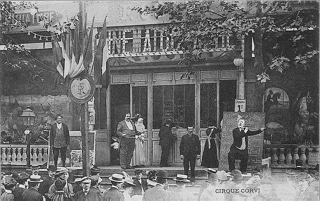 A participatory graphic novel taking place around 1900 - Page 5 640px-F%C3%AAte_de_Neuilly-sur-Seine%2C_Le_Cirque_Corvi%2C_postcard_c._1900