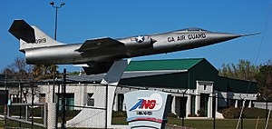 Gate guardian - F-104 at the Georgia Air National Guard