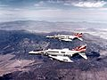 F-4B Phantoms of VF-111 in flight c1972.jpg