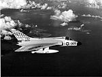 F4D-1 Skyray VF-213 in flight off Taiwan 1958.jpg