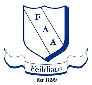 Feildians Athletic Association - Image: FAA logo white