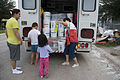 FEMA - 37611 - Red cross dispenses cleaning supplies to residents in Texas.jpg