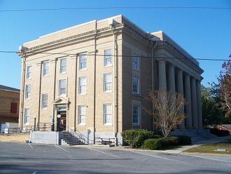 Washington County, Florida - Washington County Courthouse in Chipley