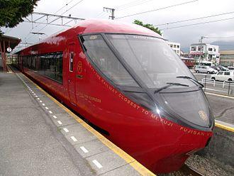 371 series - The Fujikyu 8500 series set in June 2016