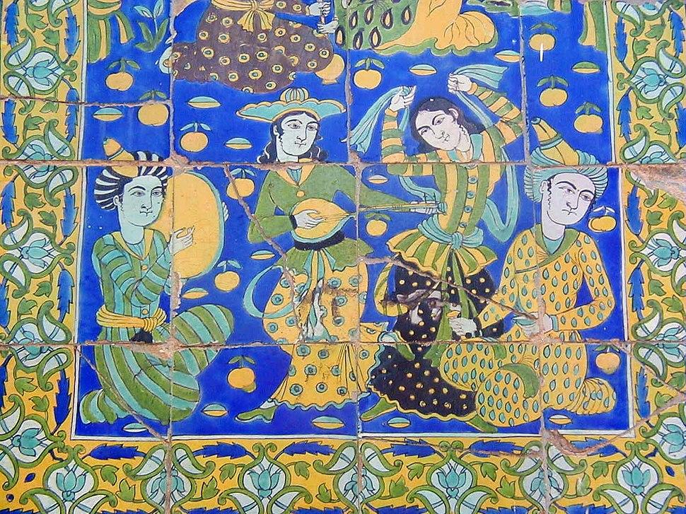 Faïence médina palais orient tunis