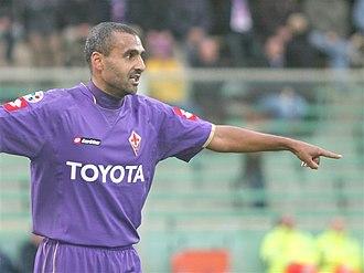 Fabio Liverani - Liverani playing for Fiorentina in 2008