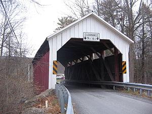 Factory Bridge - The bridge in November 2008