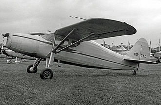 Fairchild 24 - Fairchild UC-61K supplied as an Argus III to the RAF in 1944 and sold to a civil owner in Belgium postwar