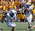 Falcons on offense at Air Force at Wyoming 2010-09-25 2.JPG
