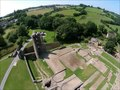 File:Farleigh Hungerford Castle aerial video.webm