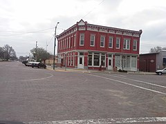 Farmers State Bank in Lindsborg Kansas KS USA.jpg