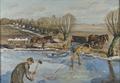 Farmhands fetching Ice (Fritz Syberg) - Nationalmuseum - 20341.tif
