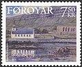 Faroe stamp 534 Kirkjubour.jpg