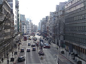 A201 road - Image: Farringdon Street