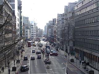road in London