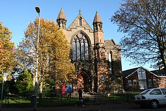 Father's Day (Doctor Who) - St. Paul's Church in Grangetown.