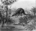 Fauna from Triassic Jurassic Period Wellcome M0008776.jpg