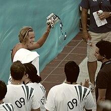 Federica Pellegrini ai mondiali di Roma 2009