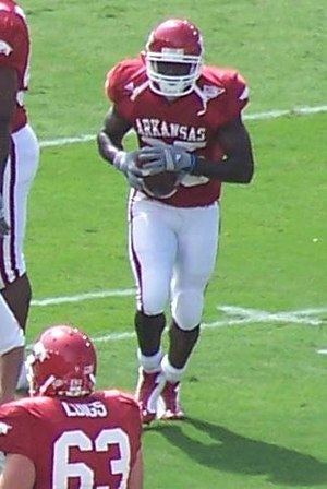Felix Jones - Jones before the Alabama game in 2006.