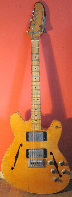 Fender Starcaster - Image: Fender Starcaster