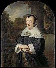 Portret van Maria Rey (1630/31-1703), echtgenote van Roelof Meulenaer
