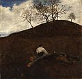 Ferenczy, Károly - Landscape in Springtime with the Flower Hill (1898).jpg