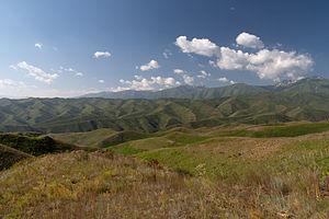 Fergana Range - Image: Fergana Range 1