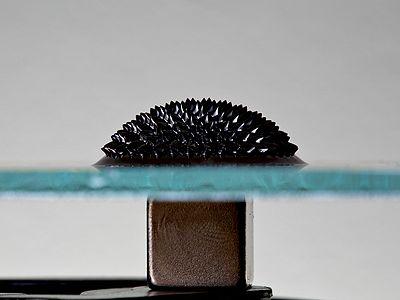 Ferrofluid Magnet under glass.jpg