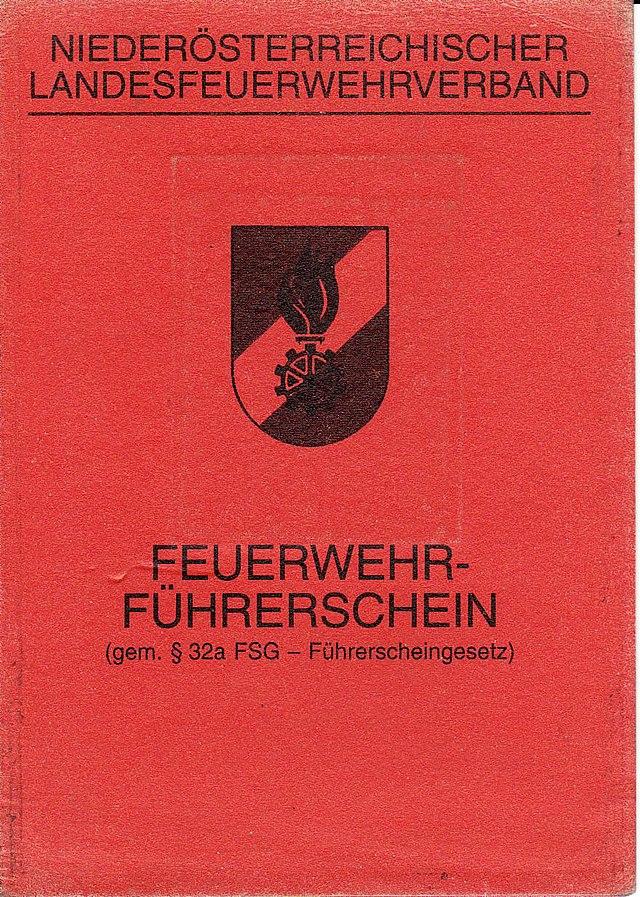 Führerschein Und Lenkberechtigung österreich Wikiwand
