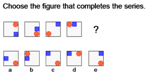 An example of an item from a cognitive abiliti...