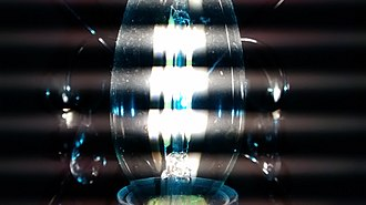 LED filament - Flickering of dimmable filament LED lamp as interference with a digital camera frame rate