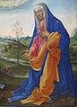 Filippino lippi, Apparizione di Cristo alla Madonna 04.JPG