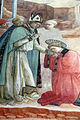 Filippo lippi, affreschi del 1452-65, congedo di s. stefano 05.JPG