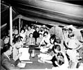 Final Armistice Agreement being signed by representatives of Syria and Israel, in a tent at Mahayanim.jpg