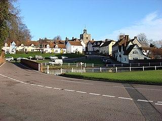 Finchingfield village in England, United Kingdom