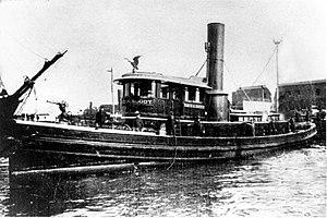 David A. Boody (fireboat) - Image: Fireboat David A. Boody