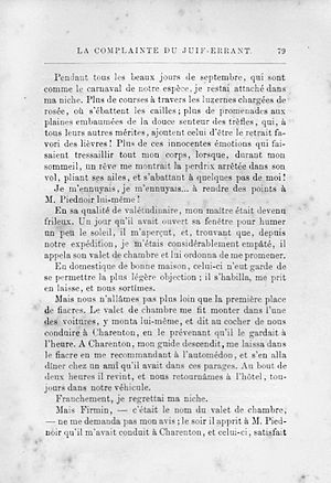 Didot (typeface) - An example of Firmin-Didot-style typeface from the book Histoire d'un Trop Bon Chien by Cherville