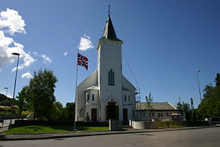 Fjell Church Church in Vestland, Norway