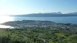 Narvik (town) - View of the town