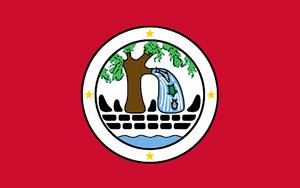 Ngiwal - Image: Flag of Ngiwal State
