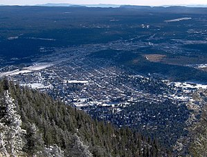 Flagstaff as viewed from atop mount Elden.jpg