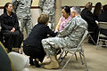 Flickr - The U.S. Army - Gen. George W. Casey and his wife meet with families at Fort Hood.jpg