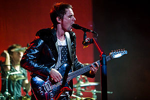 Matt Bellamy - Image: Flickr moses namkung Muse 2