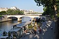 Floating restaurant on boat along the river, Paris 3 June 2010.jpg